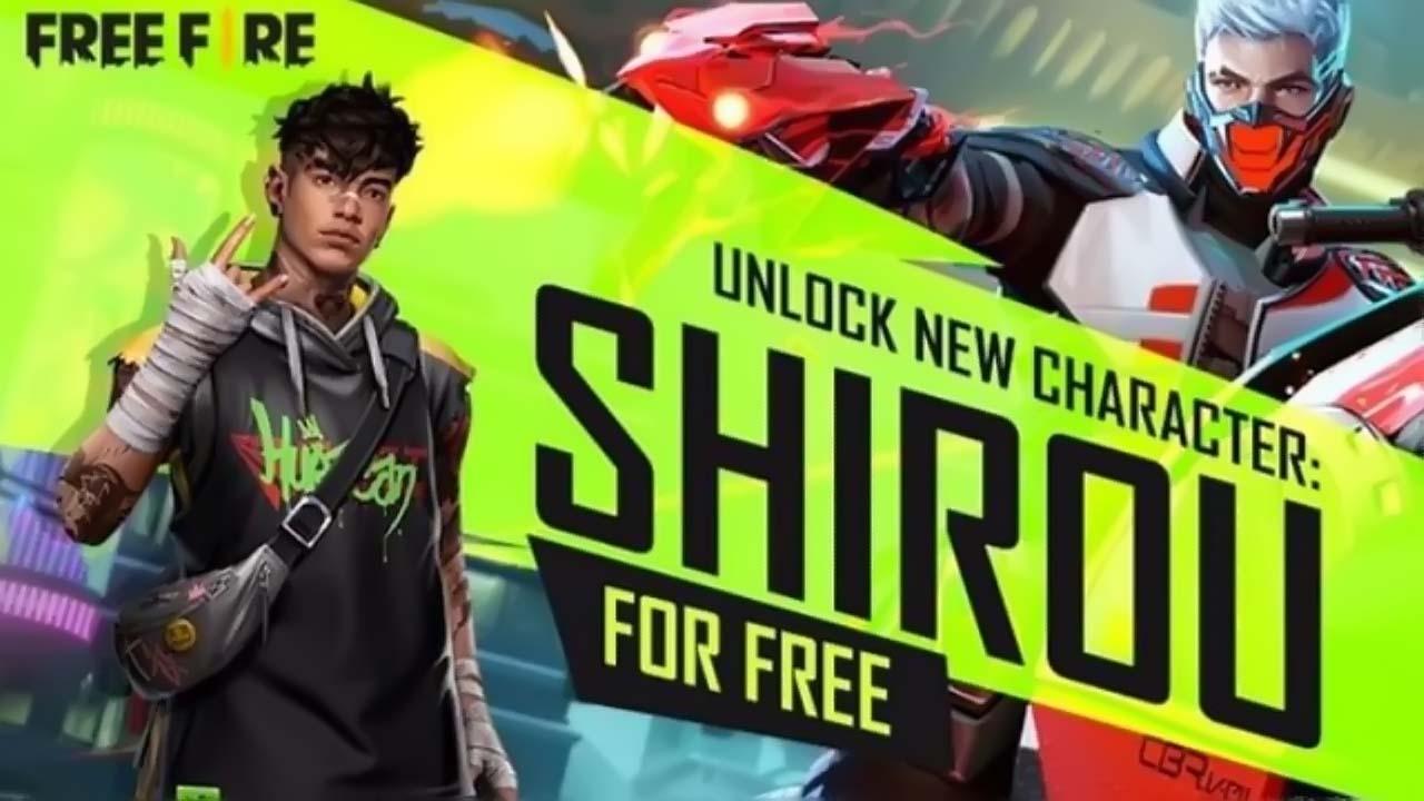 Free Fire Gratiskan Karakter Shirou