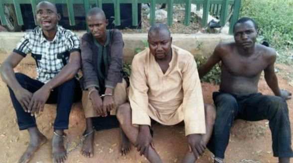 PHOTO: Nigerian Police Officers Arrested For Kidnapping