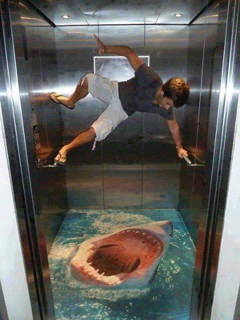 bentuk dan desain lift yang unik lucu dan kreatif-13