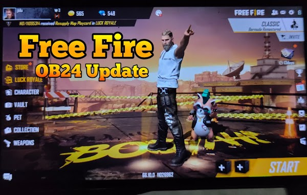 Free Fire New OB24 Updates Is Here What Is New | Garena Free Fire