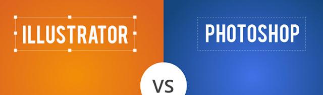 انفوجرافيك : ما الفرق بين كل من الـ Illustrator و الـ Photoshop