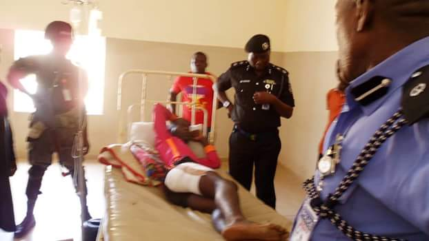 Photos: Gunmen kill policeman, injure another at former IGP Coomassie