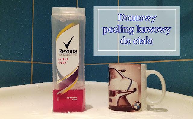 Domowy peeling kawowy do ciała
