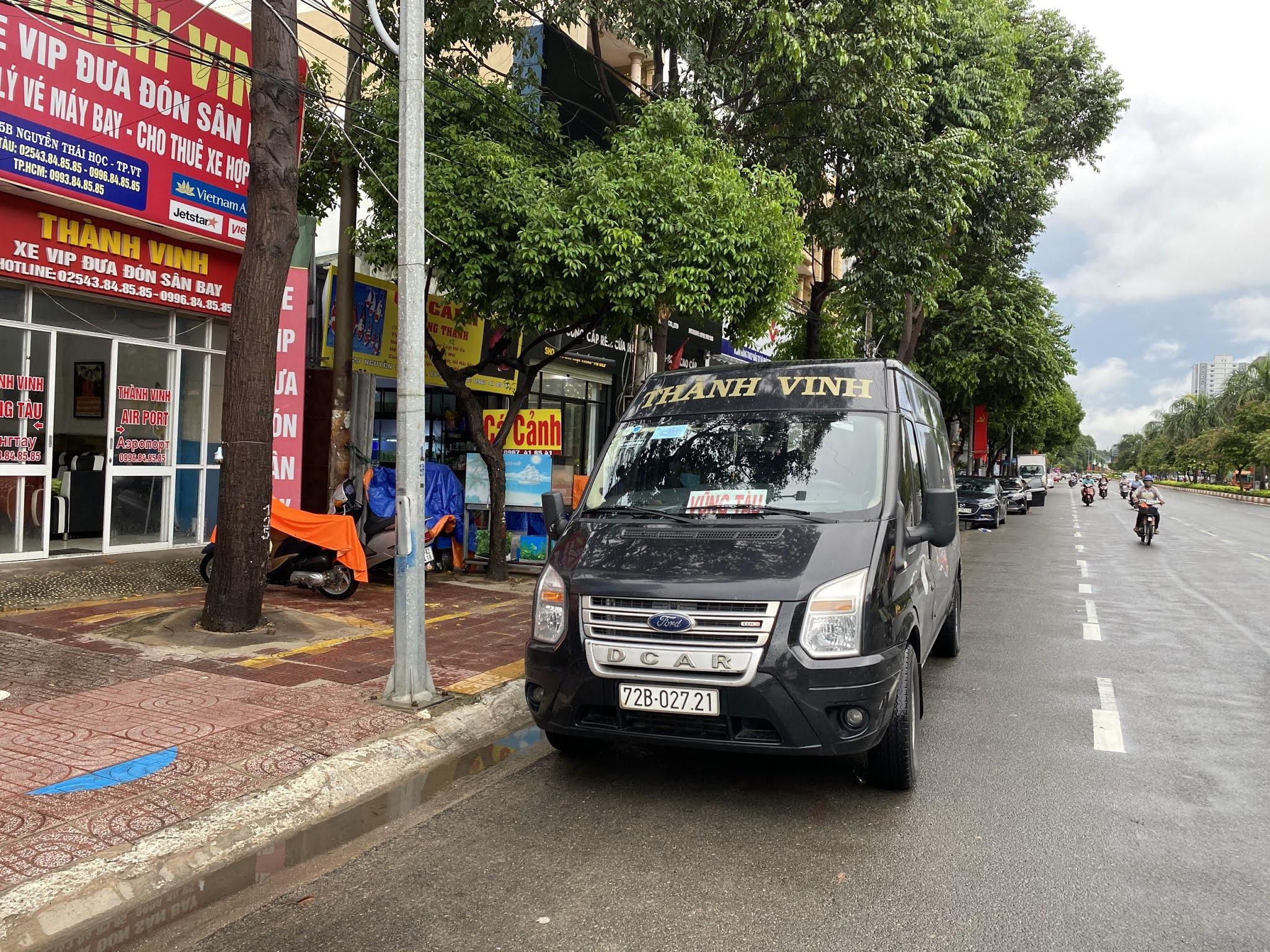 Giá vé xe limousine Thành Vinh tuyến Vũng Tàu - Sân bay Tân Sơn Nhất - Vũng Tàu