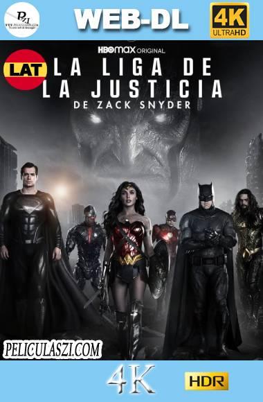 La Liga de la Justicia de Zack Snyder (2021) Ultra HD HMAX WEB-DL 4K HDR Dual-Latino VIP