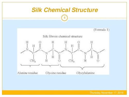 Structure Of Silk Fiber