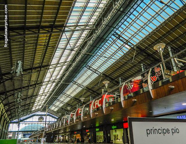 Estação de Metrô Príncipe Pio, Madri
