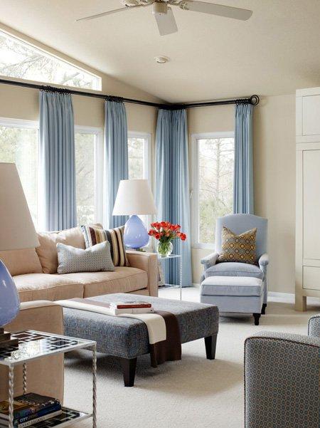 Simple Color Curtains Ideas! RR Interiors