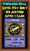 Virulence - Wizard101 Card-Giving Jewel Guide