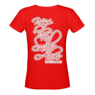 GOMAGEAR Women V Neck T-Shirt