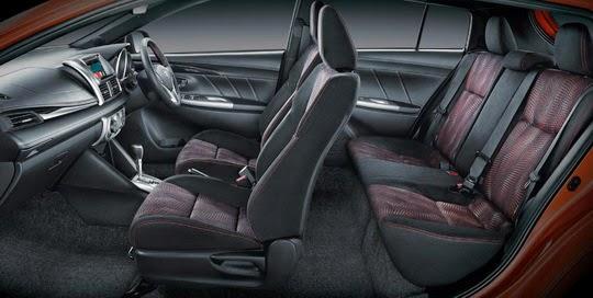 Harga Toyota New Yaris Trd 2014 All Corolla Altis 2018 Ini Kelebihan Sportivo Dibanding Yang Lain Dengan Semi Bucket Seat Duduk Di Terbaru Terasa Lebih Mantap Dan Nyaman Berkat Adanya Bantalan Samping Maju Tebal