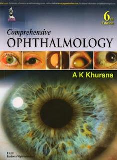 Comprehensive Ophthalmology - A K Khurana pdf free download