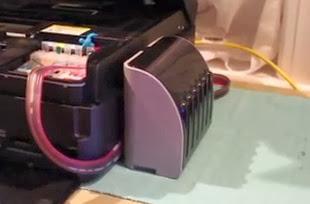Menggunakan Printer infus yang baik dan benar
