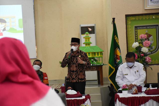 Kabupaten Sergai Akan Gelar Simulasi di Tiga Kecamatan Menjelang PTM Dilaksanakan