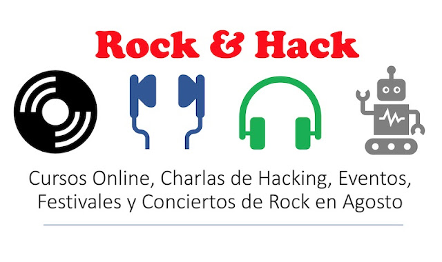 Un informático en el lado del mal: Rock & Hack: Cursos Online