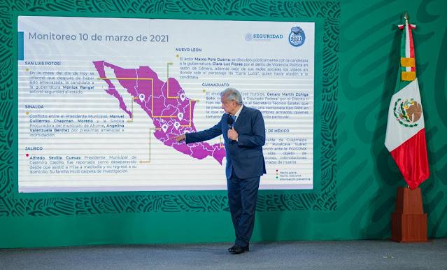 Vacunas que llegan a México están en buen estado y no hay desperdicio: AMLO