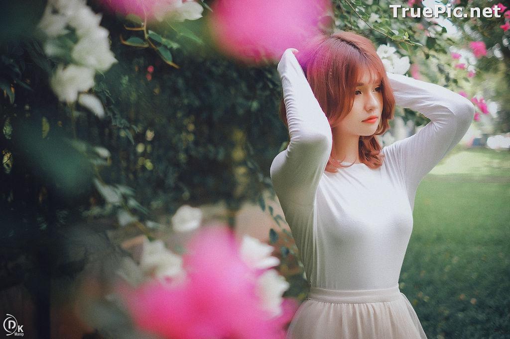 Image Vietnamese Beautiful Model - Bougainvillea Flowering Season - TruePic.net - Picture-17