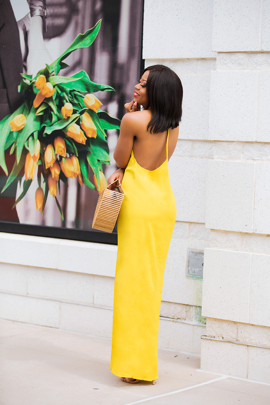 asos yellow summer dress, cult gaia bag, www.jadore-fashion.com