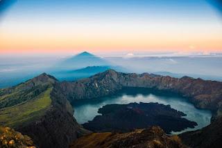 gunung rinjani di lombok