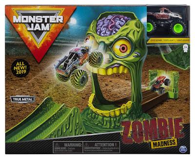 MONSTER JAM Playset Zombie Madness : Acrobacias 1:64  Producto Oficial 2019 | Spin Master - Bizak 61925873 |A partir de 3 años  COMPRAR ESTE JUGUETE EN