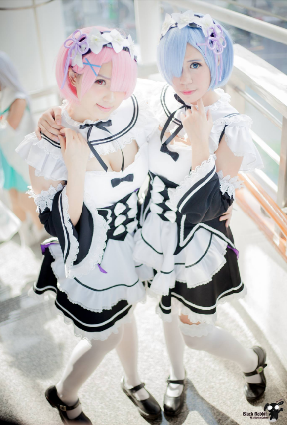 Rem and ram cosplay
