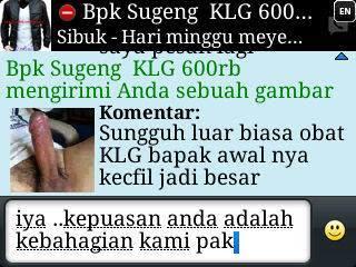 Jual KLG Asli Di Medan