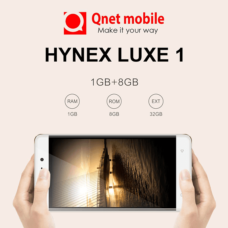 Qnet Mobile Hynex Luxe 1 teased