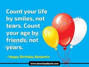 Happy Birthday Benjamin Cake Images