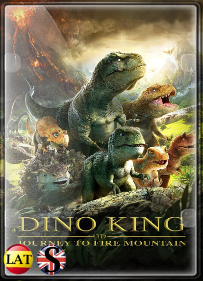 Dino King: Viaje a la Montaña de Fuego (2019) WEB-DL 720P LATINO/INGLES