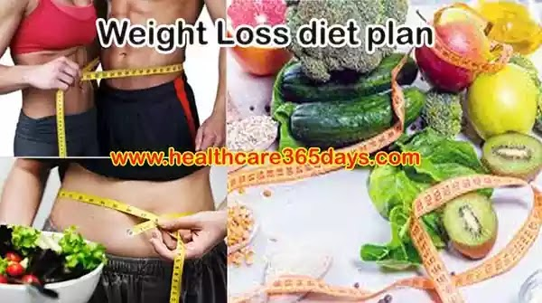 Easy and effective Weight Loss diet plan, Home diet plan to Lose Weight