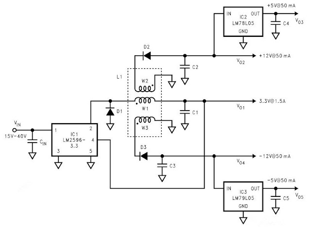 Electronic Components Crazy Fans: Multi Output DC to DC