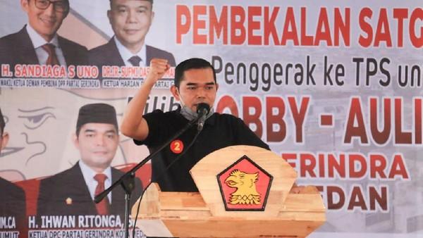 Gerindra Depak Anggotanya yang Tak Dukung Bobby di Pilkada Medan