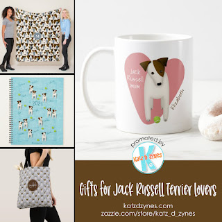 Gifts for Jack Russell Terrier lovers collection from katzdzynes