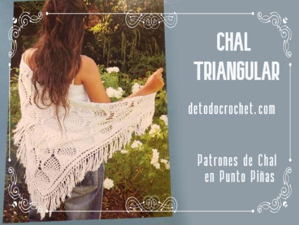 patrones-chal-crochet-punto-piñas