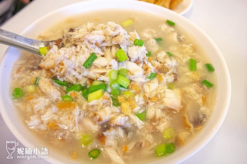 【台南美食】阿堂鹹粥。必吃台南早餐免排隊!這時間來準沒錯