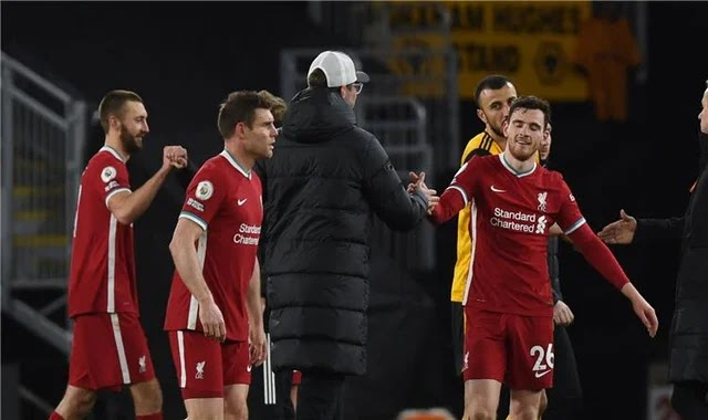 Klopp after winning against Wolverhampton: The performance is ugly? The most important points ... Patricio's injury is catastrophic