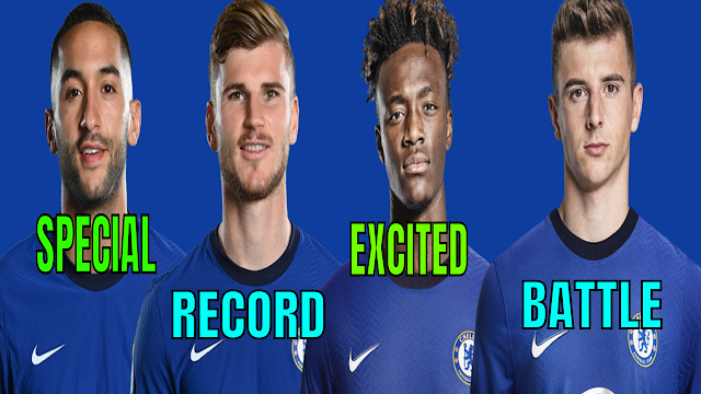CHELSEA NEWS: ZIYECH IS SPECIAL | WERNER S RECORD | TAMMY S EXCITED | MOUNTS BATTLE | LAMPARD CALM.