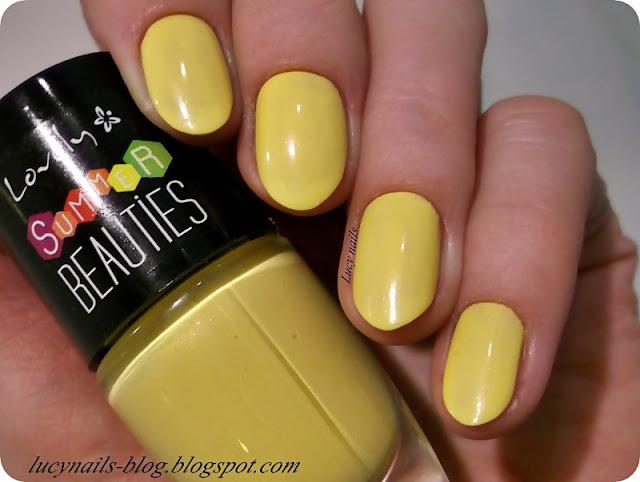 żółty lakier