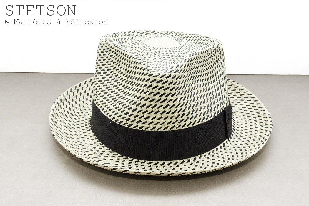 Stetson chapeau panama