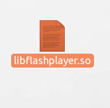 Archivo de plugin de flash player Ubuntu 18.04 lts
