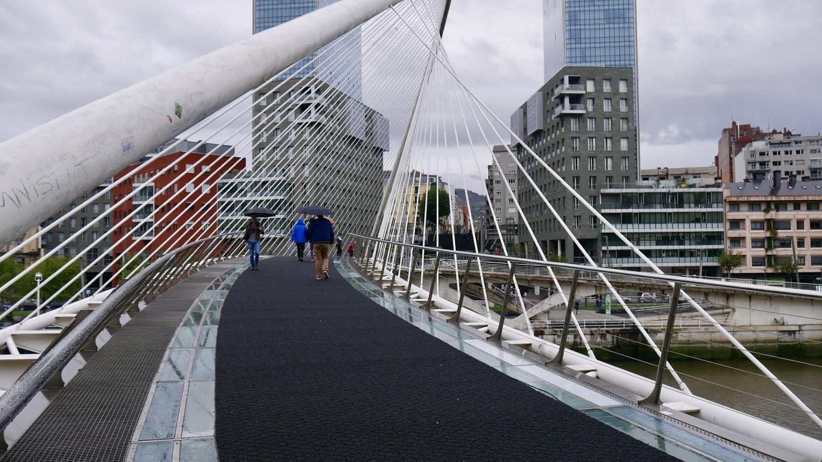 Pont de Calatrava Bilbao Pais Vasco España