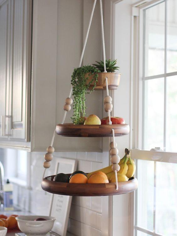 upgrade your kitchen with a hanging fruit basket life decor fashion rh fashionpattiserie blogspot com