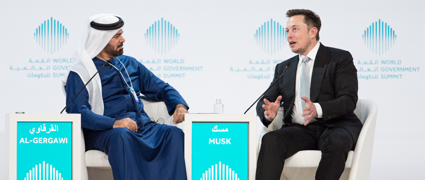 Elon Musk Says Governments Must Monitor Development of AI