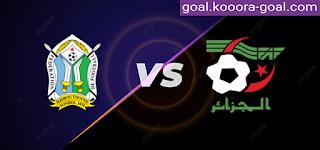 مشاهدة مباراة الجزائر وجيبوتي بث مباشر كورة جول اليوم 02-09-2021 في تصفيات كأس العالم