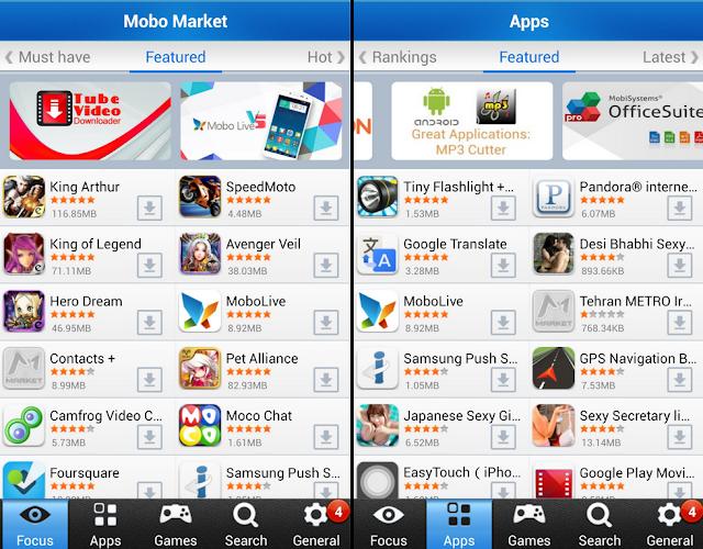 MoboMarket App