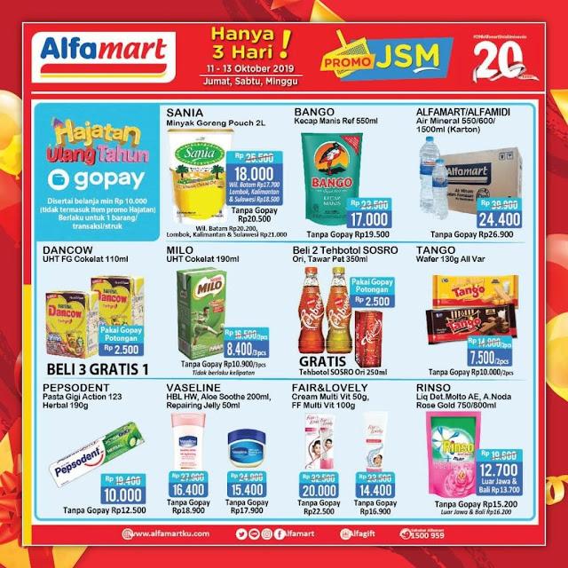 #Alfamart - #Promo Katalog JSM Periode 11 - 13 Oktober 2019