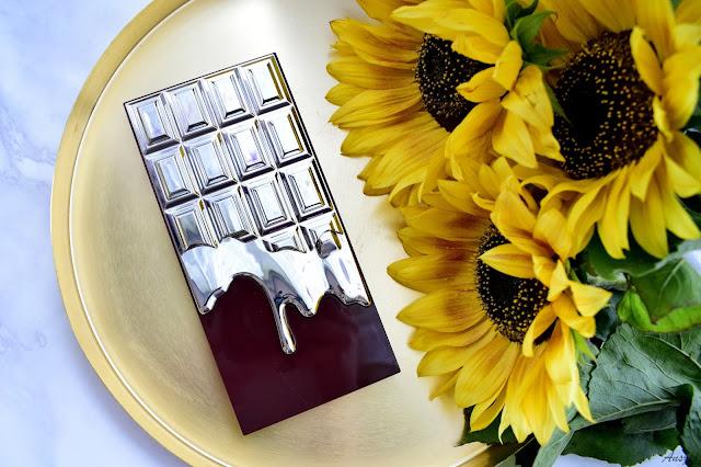 Galaktyka na powiekach- paleta cieni I Heart Revolution Galactic Chocolate Palette