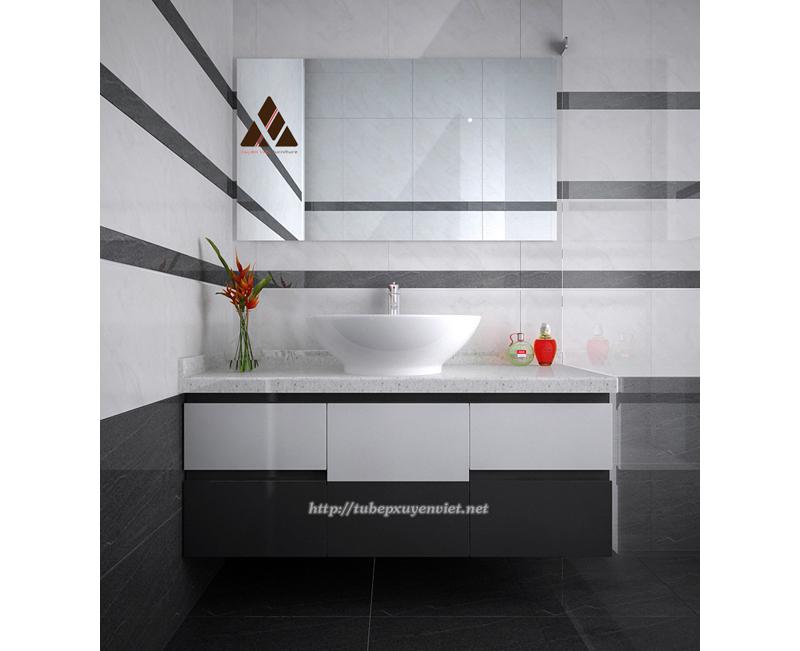 Tủ chậu lavabo đẹp sản xuất theo yêu cầu