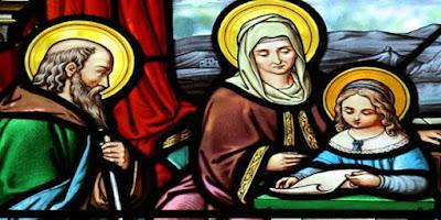 imagem São Joaquim, Sant'Ana e Maria