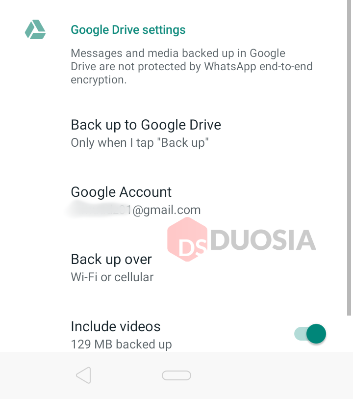 cara backup data aplikasi whatsapp